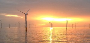 The Lincs Offshore Wind Farm